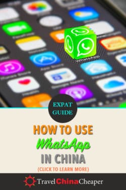 Pin this: WhatsApp in China article