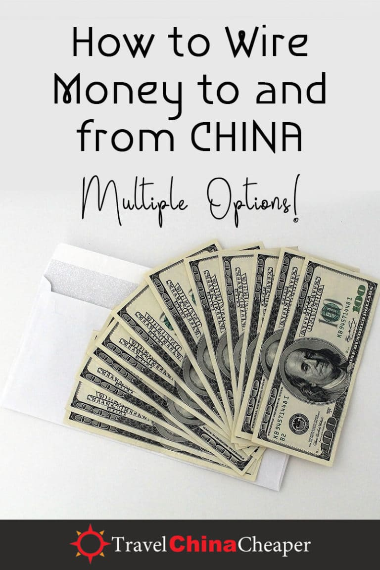 This guide is meant to teach you how to send money to and from China, or anywhere in the world for that matter. | Travel China Cheaper | China Travel Guide | China Expat Guide | Wire Money in China | Wire Money to China | Wire Money from China | Expat in China | China Travel Blogger | Asia Travel Guide #China #chinatravel #travelChina #expatinchina #chinaexpat