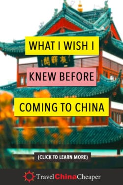 Save this article about what I wish I knew before coming to China on Pinterest